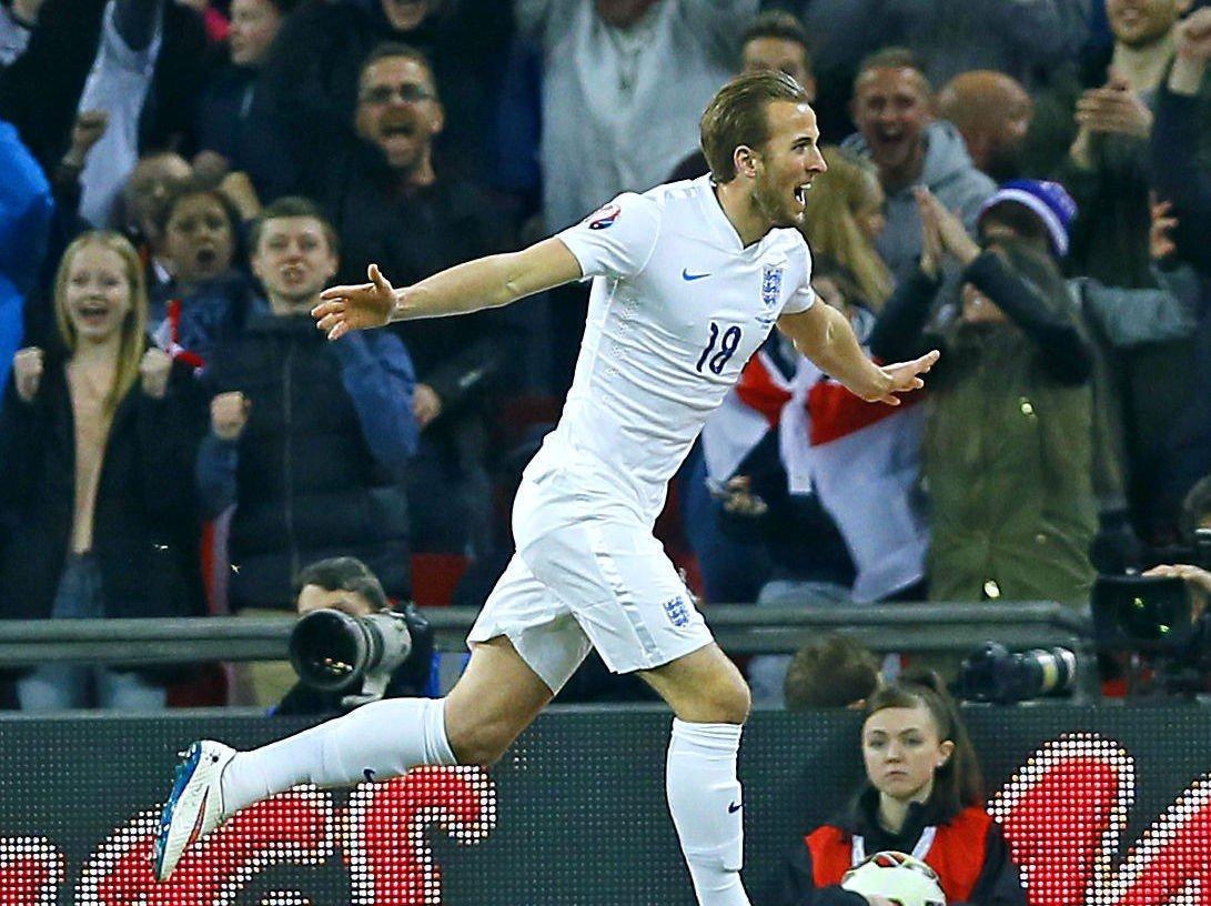 TREFFSIKKER: Harry Kane fikk en drømmestart som landslagspiller for England i EM-kvaliken mot Litauen. Nå får han muligheten fra start i treningskampen mot Italia.