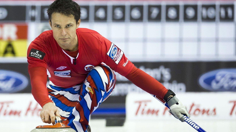 VANT: Thomas Ulsrud sikret Norges fjerde seier i VM natt til tirsdag.