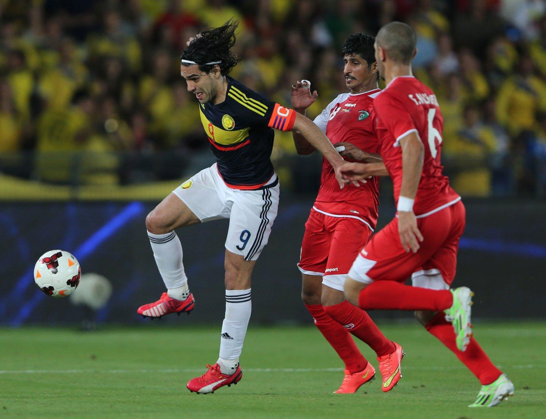 MÅLSNIK: Radamel Falcao er en målmaskin for landslaget.