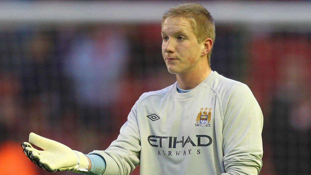 TIL NEW YORK CITY: Eirik Holmen Johansen forlater Manchester City.