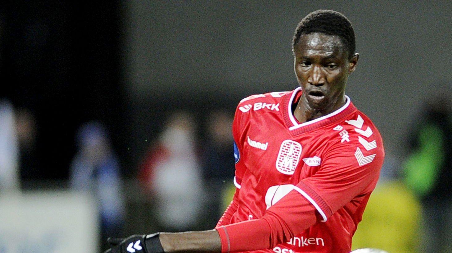 TIL HØNEFOSS: Ibrahima Dramé forlater Brann for å fortsette karrieren i Hønefoss.