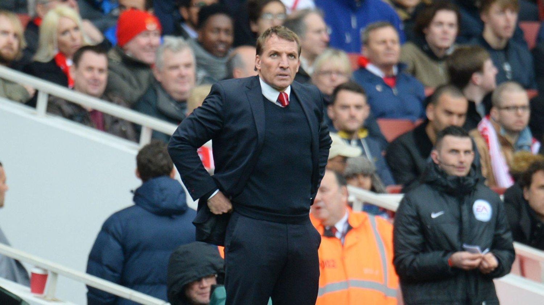 YDMYKET: Brendan Rodgers skal ha beordret spillerne til et krisemøte etter lørdagens ydmykende tap mot Arsenal.