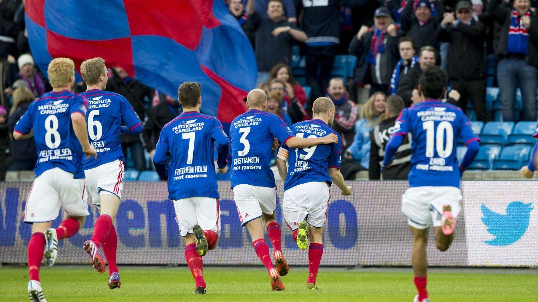 GOD START: Vålerenga fikk en god start på årets sesong da de vant 3-1 hjemme mot Strømsgodset.