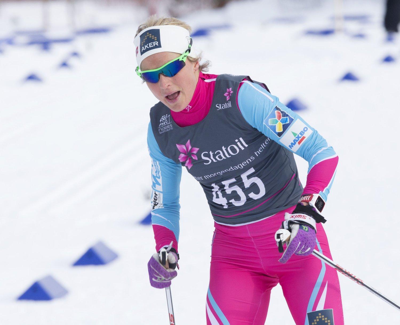 SEIER: Therese Johaug slo alle konkurrentene i Skarverennet.