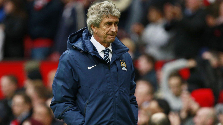 FÅR KRITIKK: Manchester City-manager Manuel Pellegrini får tøff kritikk.