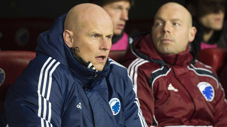 VIL IKKE BORT: Ståle Solbakken blir i FC København.