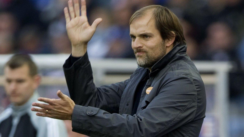 TAR OVER: Thomas Tuchel tar over som trener i Borussia Dortmund.