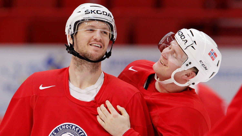 HAR TROEN: De norske hockeygutta har stor tro på poeng mot de tre antatt tøffeste motstanderne i gruppa.