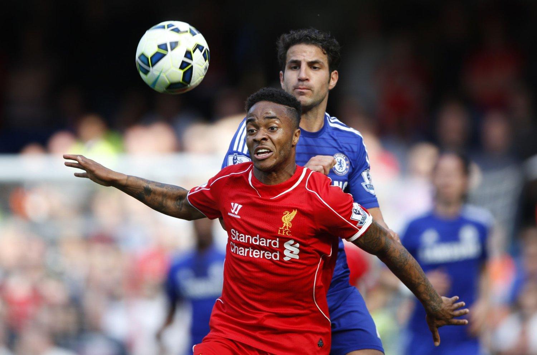 LAGKAMERATER: Raheem Sterling og Cesc Fabregas kan bli lagkamerater i Chelsea.