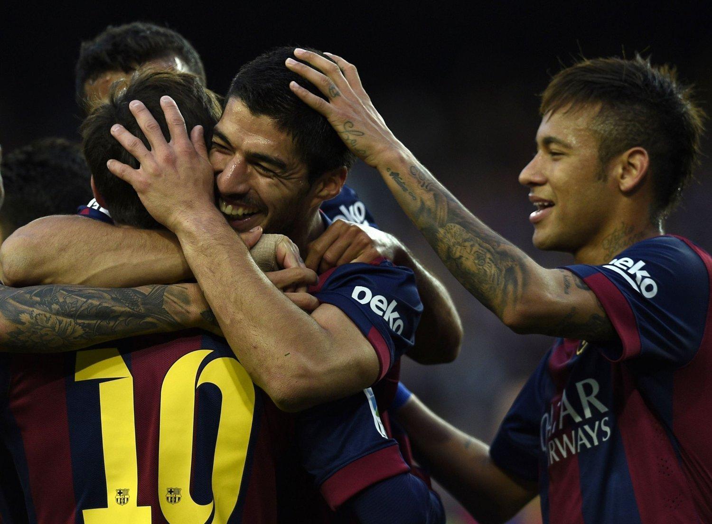 KAN BLI SOLGT: Barcelona innrømmer at de ikke kan matche de stlrste klubbene på lønn lenger.