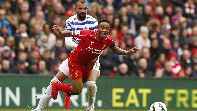 UT? Raheem Sterlings agent forteller at de skal i kontraktssamtaler med Liverpool denne uken.