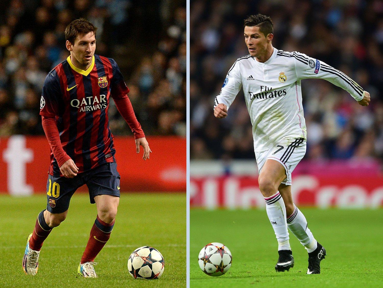 KAN BLI LAGKAMERATER: Leo Messi og Cristiano Ronaldo er i dag rivaler, men i fremtiden kan de bli lagkamerater.