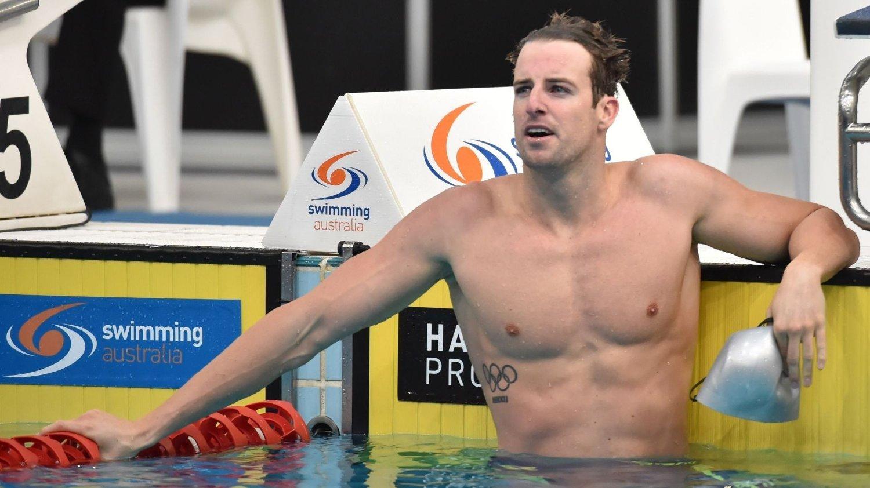 SKADET: Australske James Magnussen.