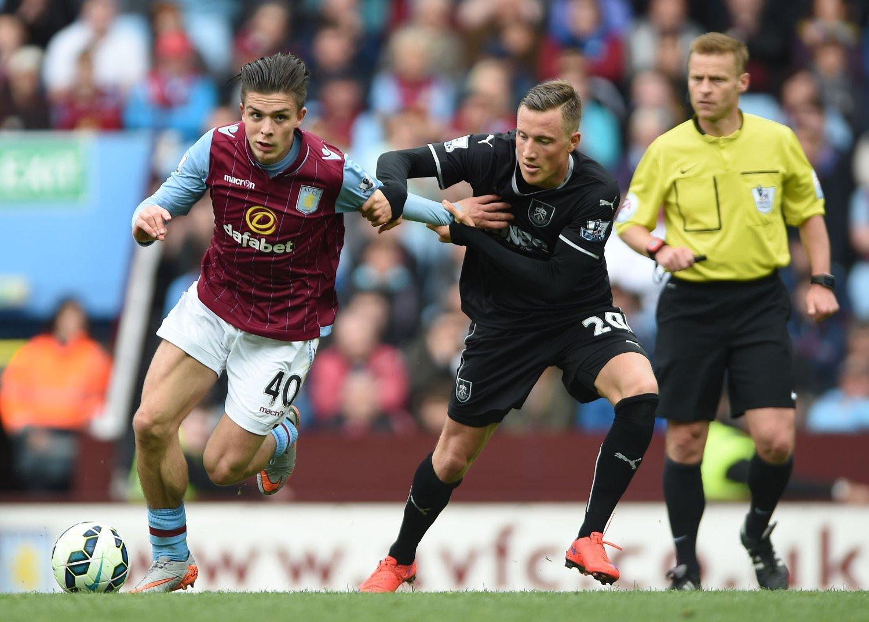 TILLIT FRA START: Fredrik Ulvestad fikk sin første kamp fra start for Burnley da det nedrykksklare laget slo Aston Villa på bortebane i serieavslutningen.