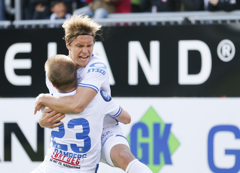 LEKSJON: Haugesund ga Strømsgodset en leksjon i effektivitet da de vant hele 4-0 søndag.