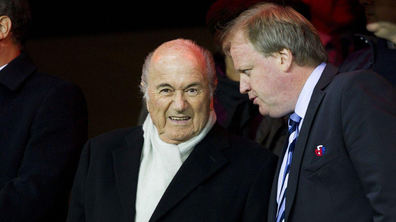SKAL STEMME: Fredag skal Norges fotballpresident Yngve Hallén stemme på den neste FIFA-presidenten.