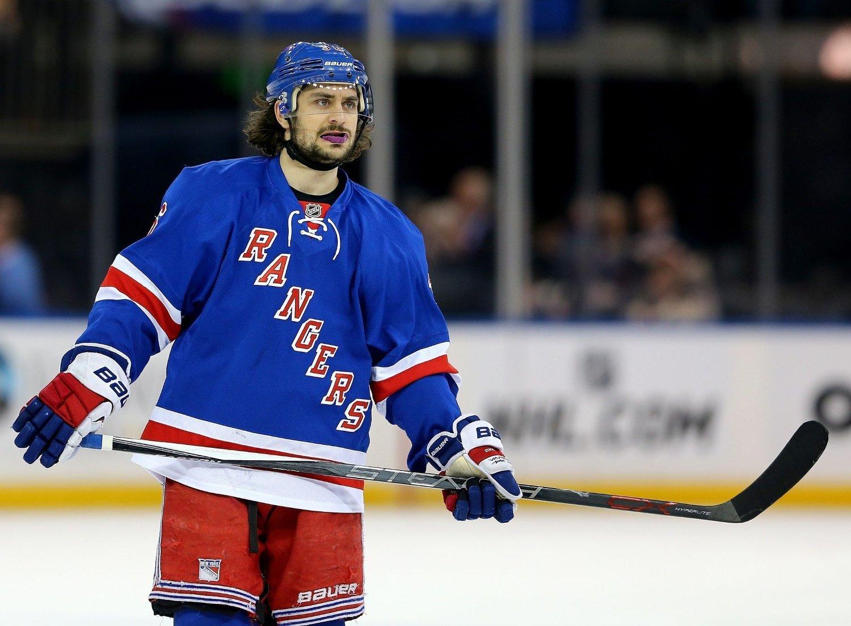 SNART KLAR: Hockey-ess Mats Zuccarello Aasen.