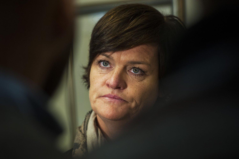 Mette Yvonne Larsen er advokaten til de fem søsknene som krever 25 millioner kroner i erstatning fra Sandefjord kommune.