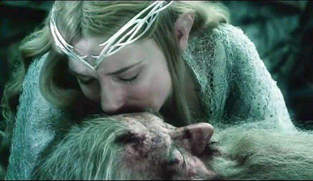 CATE BLANCHETT som Galadriel i «Hobbiten».