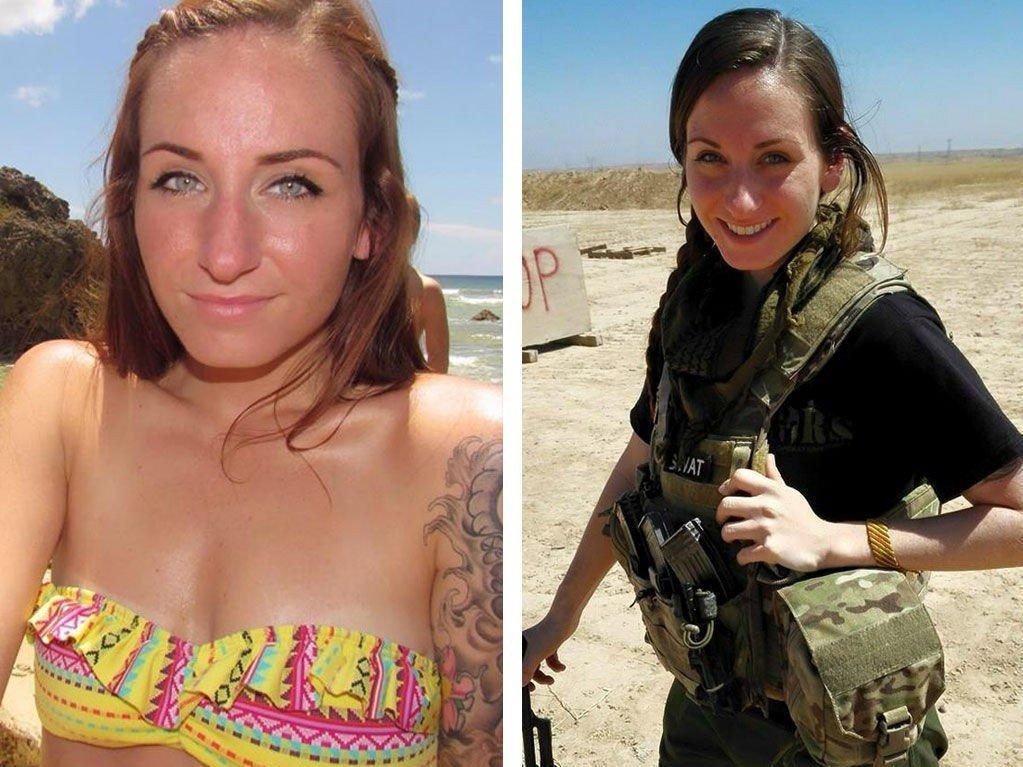 MOT IS: Samantha Johnston er en av de som har reist for å kjempe mot IS i Syria.