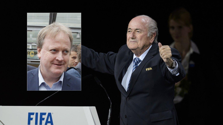 - MÅ FÅ KONSEKVENSER: President i Norges Fotballforbund, Yngve Hallén, likte dårlig at Sepp Blatter ble gjenvalgt som FIFA-president. FOTO: montasje NTB scanpix