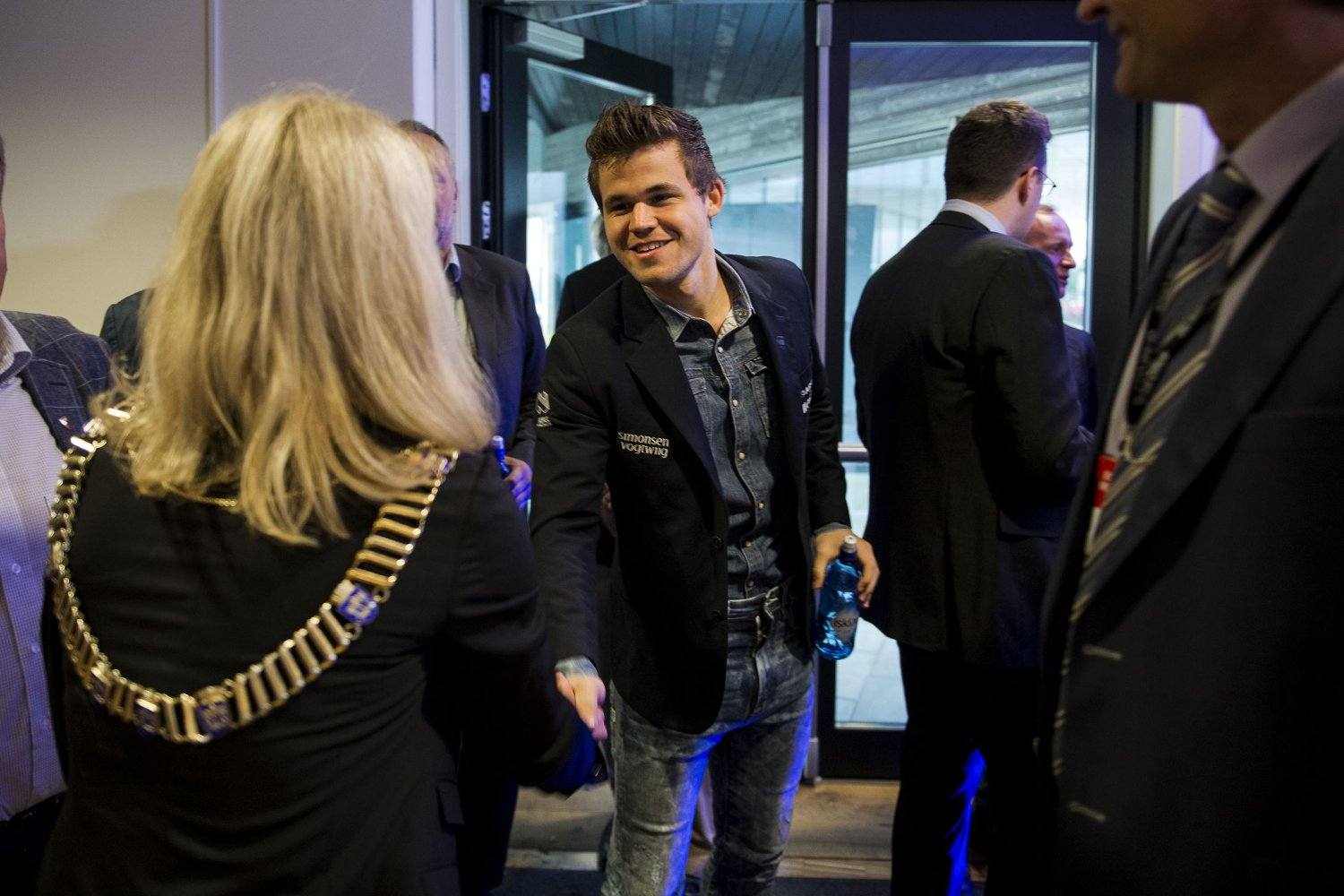 KLAR FOR NORWAY CHESS: Magnus Carlsen.