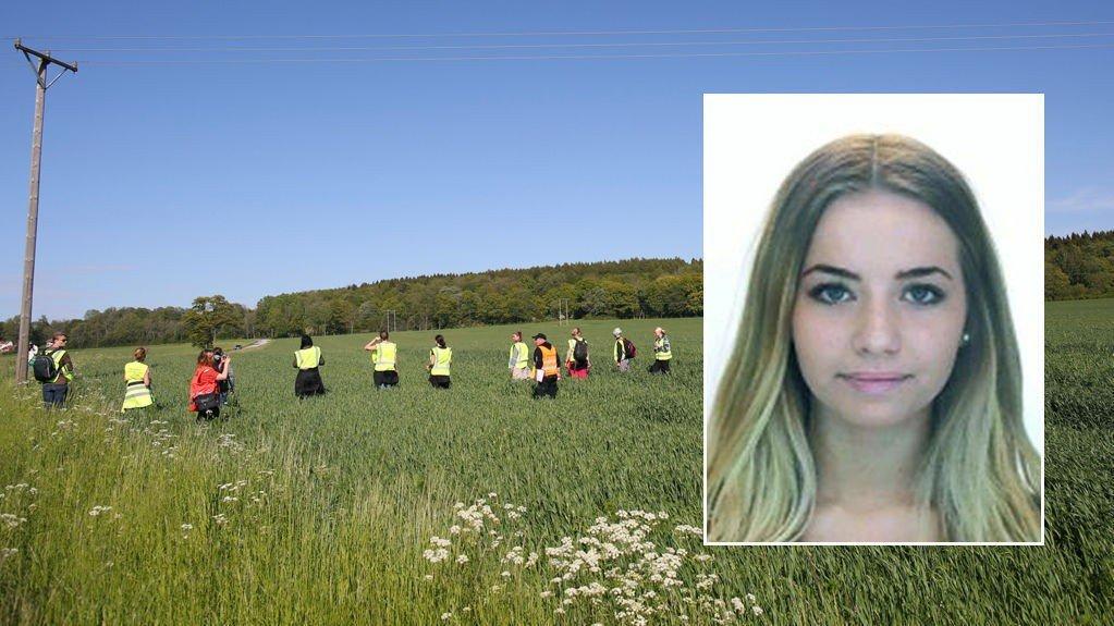 Hundervis av mennesker lette etter Lisa (17) i fem dager før hun ble funnet.