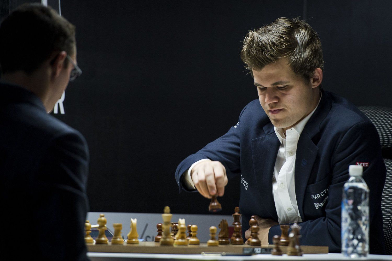 VANT: Magnus Carlsen vant i Norway Chess-turneringen.