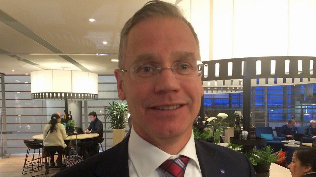 Konsernsjef i SAS Rickard Gustafson.