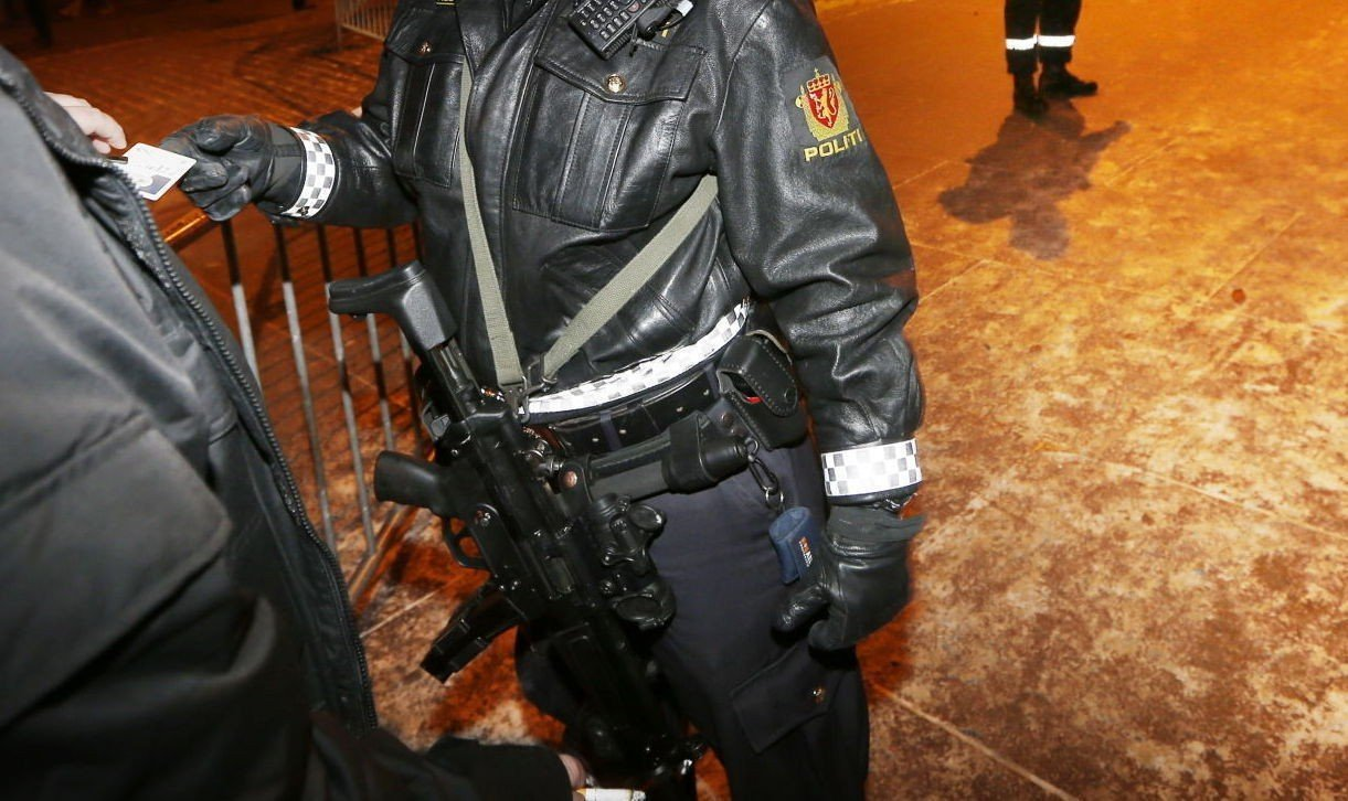 Våpnene islendingene har sendt i retur er 250 MP-5 maskinpistoler, den samme typen som også brukes av politiet her hjemme.