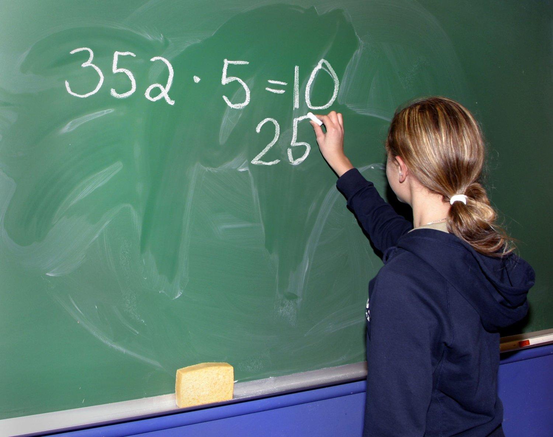 SVAKESTE: Resultatene fra årets matteeksamen blant 10. klasse-elevene er den svakeste noensinne. Foto: Scanpix