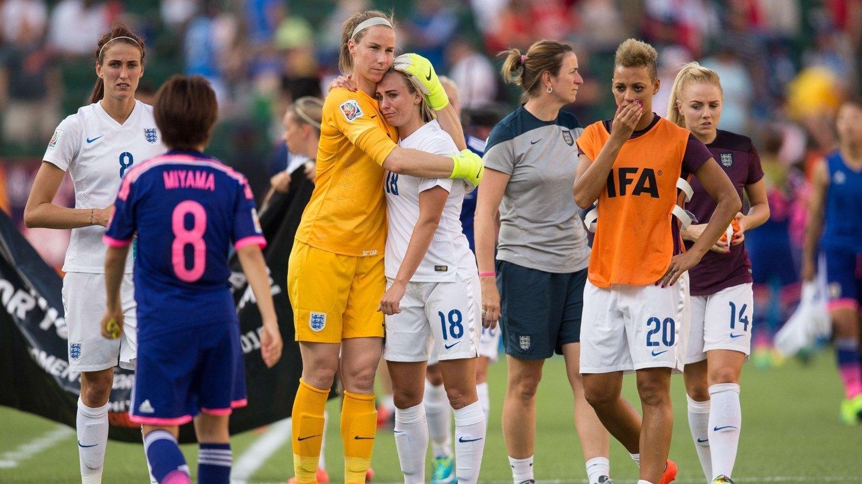 UTE: De engelske fotballkvinnene er ute av VM.