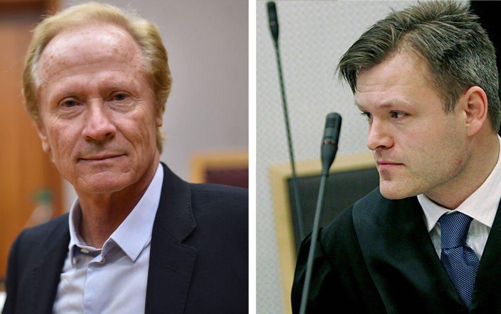 TAPTE: Nå må Marius Reikerås (t.h.) betale advokat Per Danielsen dersom han ikke anker dommen.