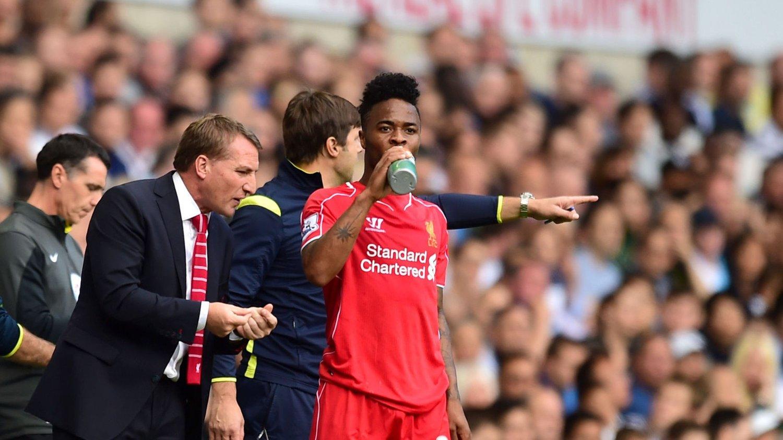 UVENNER? Raheem Sterling skal ifølge The Guardian nekte å spille under Brendan Rodgers.
