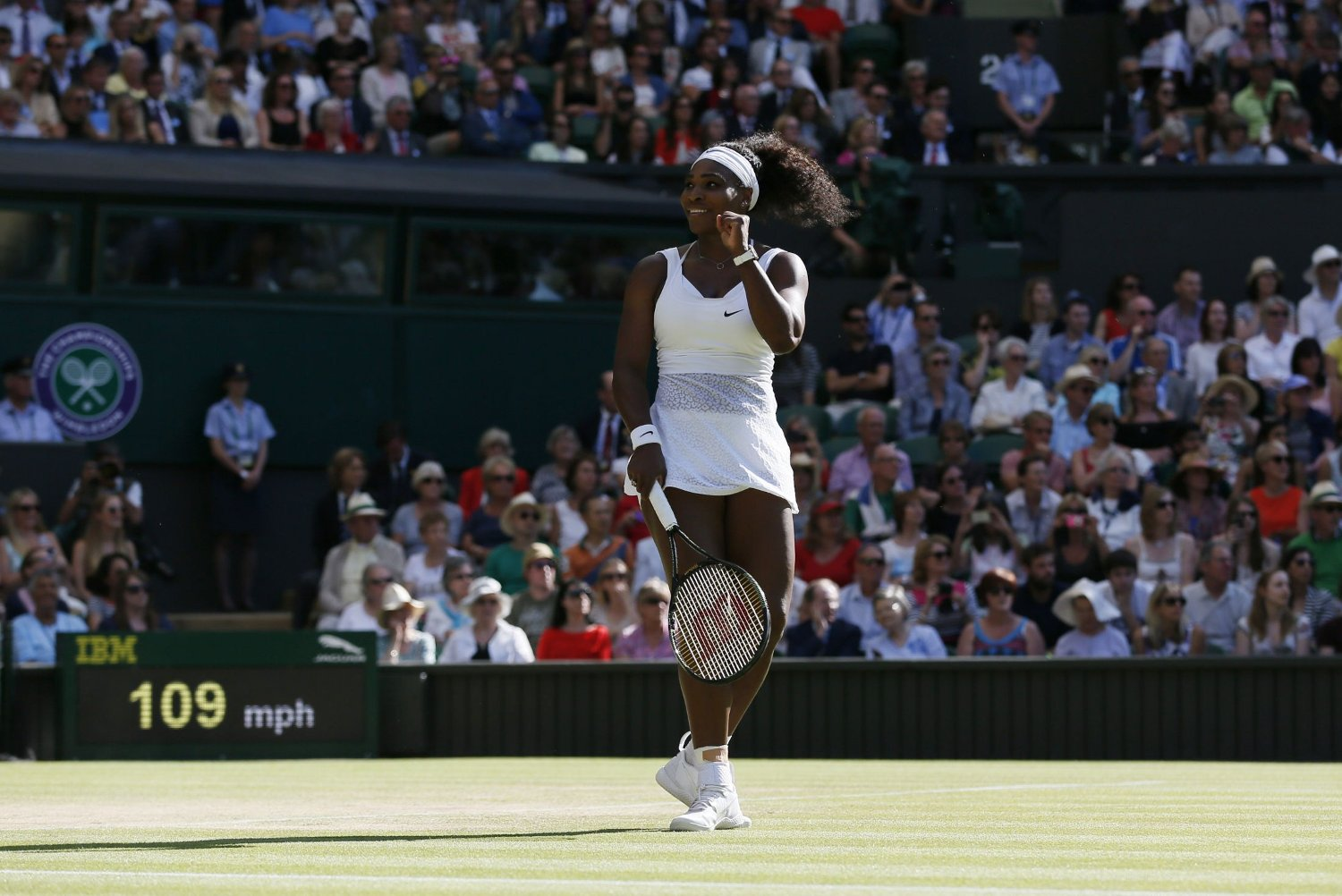 I SLAG: Serena Williams er ustoppelig for tiden.