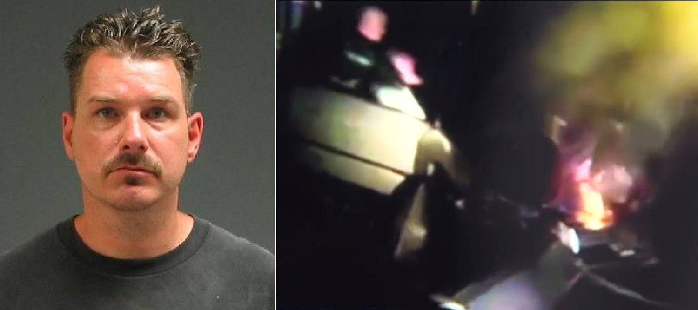 ARRESTERT: Paul Pelton filmet to døende gutter.