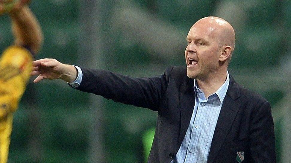 GOD START: Henning Bergs Legia Warszawa fikk en perfekt start på sesongen med 4-1-seier over Slask Wroclaw på bortebane søndag.