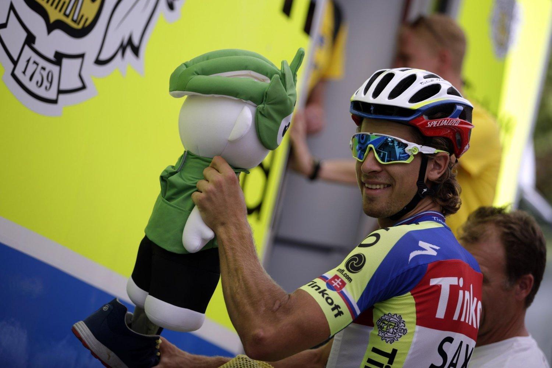 FÅR SKRYT: Tour de France-rytter Peter Sagan.