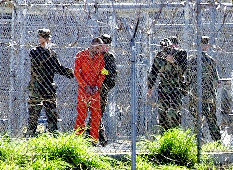 Arkivfoto fra Guantanamo-fengselet på Cuba.