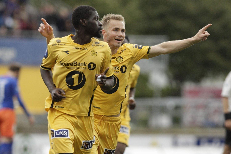 PERLE: Bodø/Glimt slo Aalesund 1-0 etter en perlescoring av Badou.