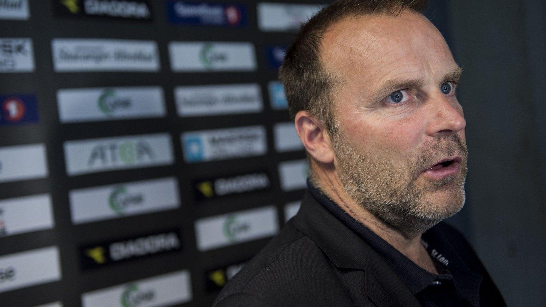 FÅR NY SPILLER: Sarpsborg 08-trener Geir Bakke har fått på plass den danske keeperen Lasse Heinze.