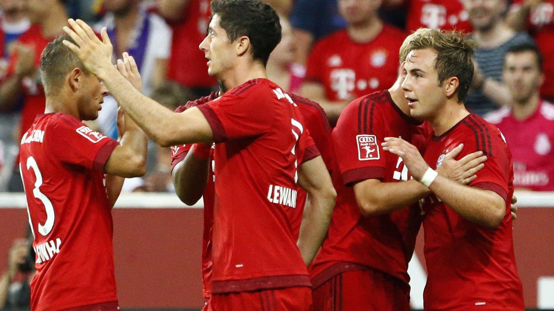 VANT: Bayern München slo AC Milan 3-0.