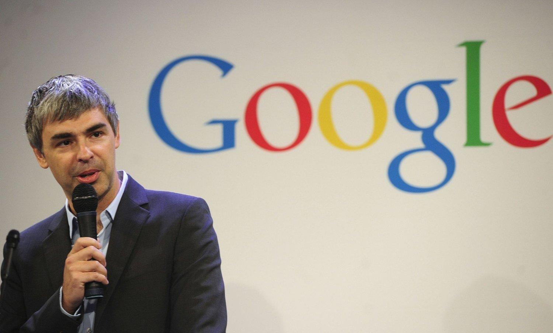 Google betaler lite skatt av sine norske reklameinntekter. Her selskapets grunnlegger Larry Page.