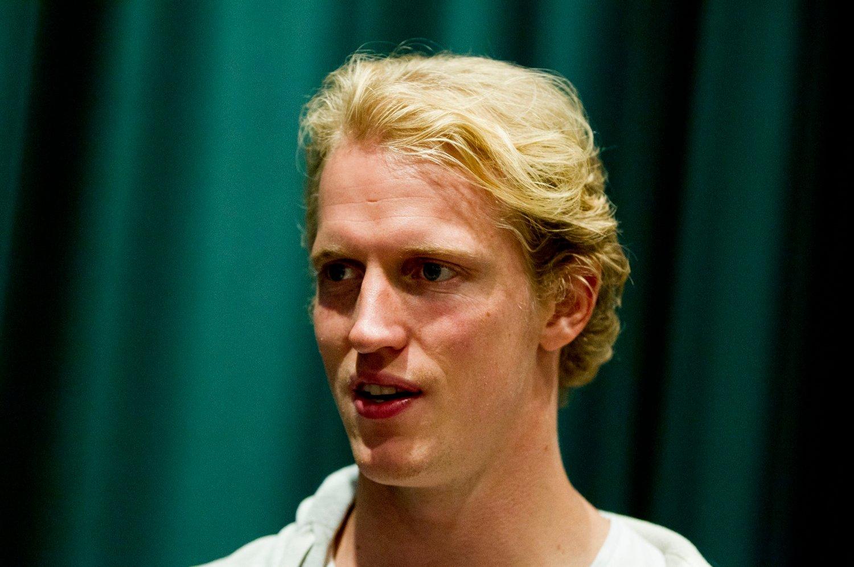 KLAR: Erik Follestad Johansen gleder seg stort til å komme i gang med hockeysesongen.