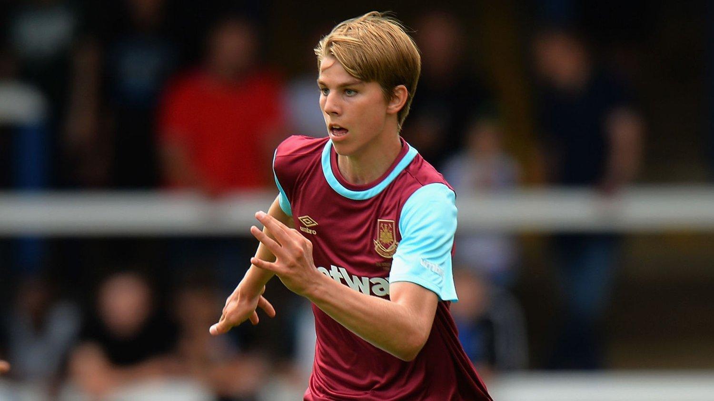 Martin Samuelsen har fått en fin start på karrieren i West Ham. Mandag scoret den norske 18-åringen igjen for reservelaget.