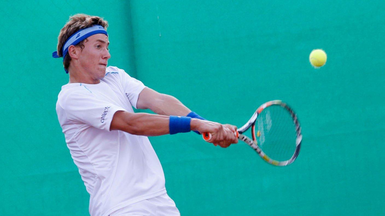 Casper Ruud er av håpene i norsk tennis.