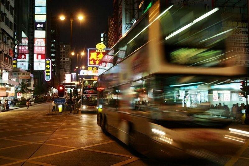 Hongkong sentrum. Illustrasjonsbilde.