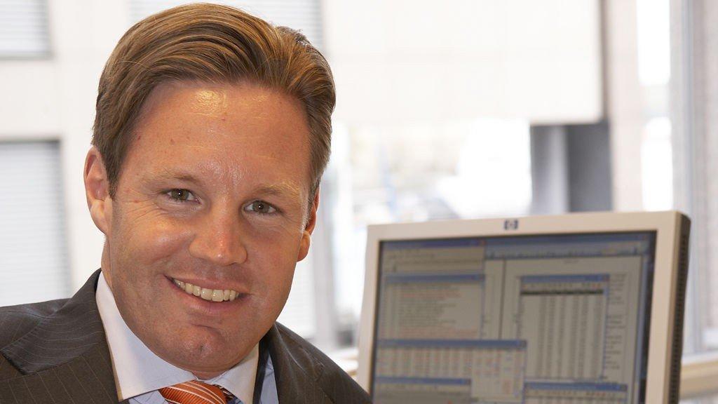 Agasti vil kvitte seg med datterselskap. Her ørgen Ulvness, administrerende direktør i Agasti.