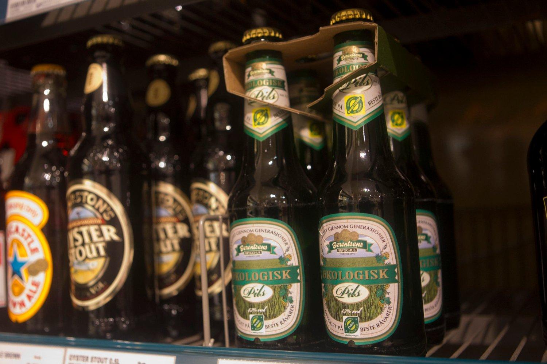 FOR STERKT: Øl i butikkhyllene er for sterkt, ifølge bryggeriforeningen.