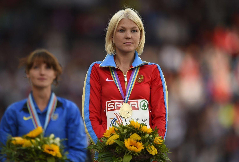 DOPTATT: Flere russiske kappgjengere er tatt for doping. På bildet står Jelmira Alembekova.